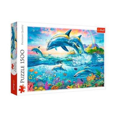 Wholesaler of Puzzle Premium Quality Delfines 1500pzs
