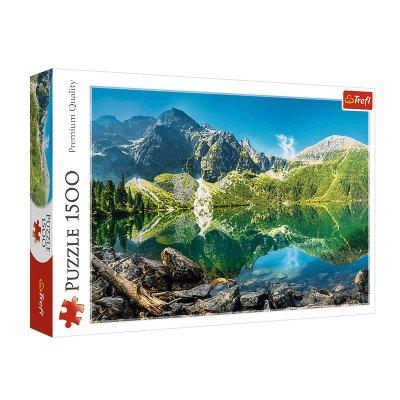 Wholesaler of Puzzle Premium Quality Lago Morskie Oko Polonia 1500pzs