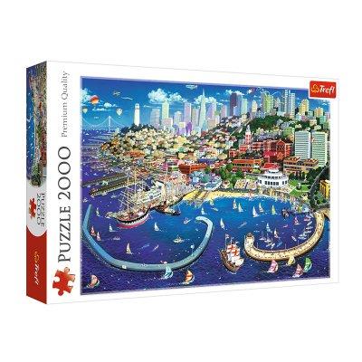 Puzzle Premium Quality Bahía de San Francisco 2000pzs