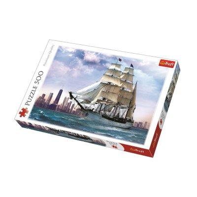 Wholesaler of Puzzle Premium Quality Navegando sobre Chicago 500pzs