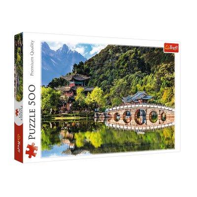 Wholesaler of Puzzle Premium Quality Estanque del Dragón Negro 500pzs