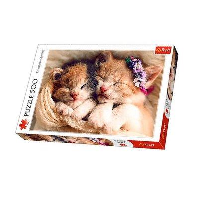 Wholesaler of Puzzle Premium Quality Gatitos durmiendo 500pzs