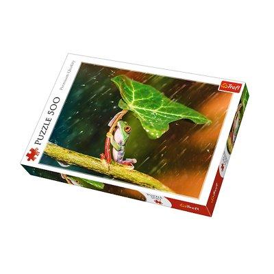 Wholesaler of Puzzle Premium Quality Paraguas verde 500pzs