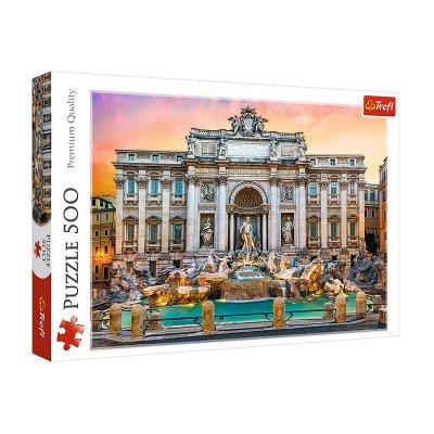 Wholesaler of Puzzle Premium Quality Fuente de Trevi Roma 500pzs