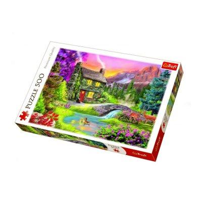 Wholesaler of Puzzle Premium Quality Montañas 500pzs