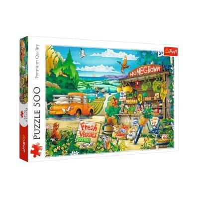 Wholesaler of Puzzle Premium Quality La mañana en el campo 500pzs