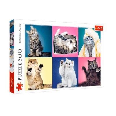 Wholesaler of Puzzle Premium Quality Gatitos divertidos 500pzs