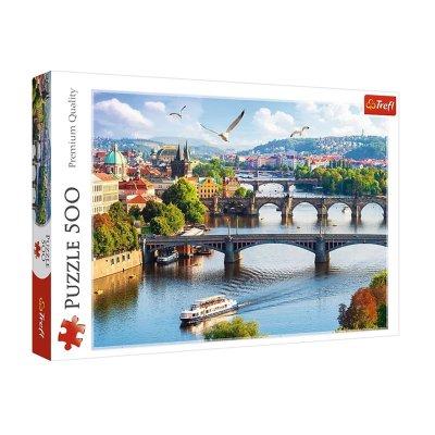 Wholesaler of Puzzle Premium Quality Praga 500pzs