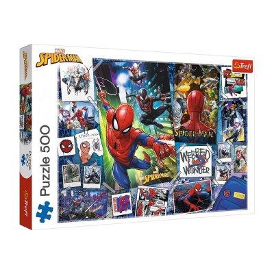 Puzzle Spiderman Marvel 500pzs
