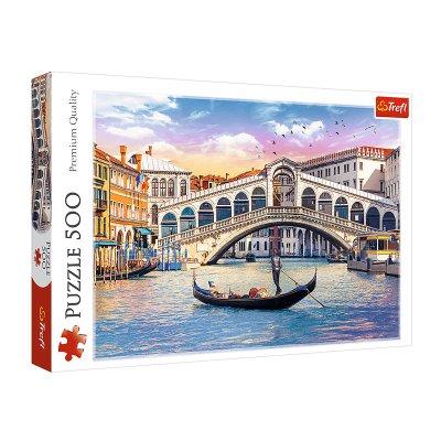 Puzzle Premium Quality Puente de Rialto Venecia 500pzs