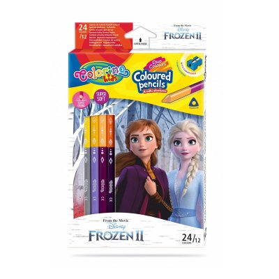 Set 12 lápices colores Colorino Kids Frozen 2