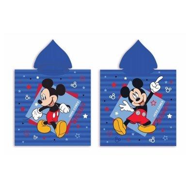 Poncho toalla con capucha microfibra Mickey Mouse Comic