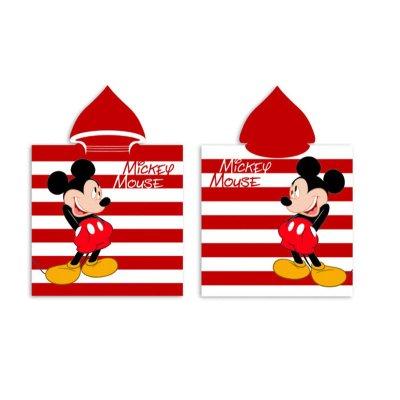 Poncho toalla con capucha microfibra Mickey Mouse Disney