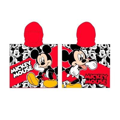Poncho toalla con capucha microfibra Mickey Disney