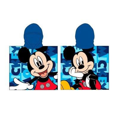 Poncho toalla con capucha microfibra Mickey Fun