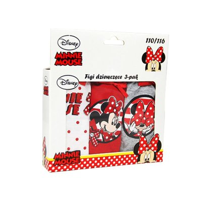 Distribuidor mayorista de Pack 3 slips Minnie Mouse