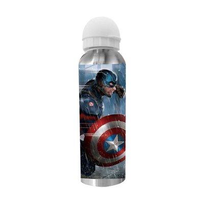 Botella aluminio Los Vengadores Civil War 500ml