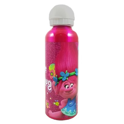 Botella aluminio 500ml Trolls