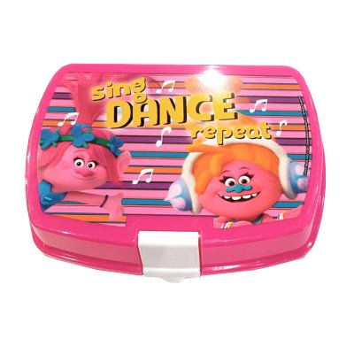 Sandwichera rectangular Dance Trolls