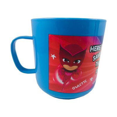 Wholesaler of Taza plástico microondas 360ml PJ Masks Hero
