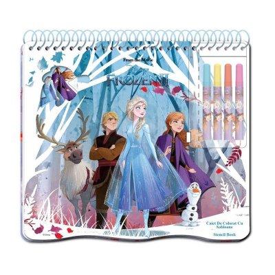 Libreta c/rotuladores Frozen 2 Disney