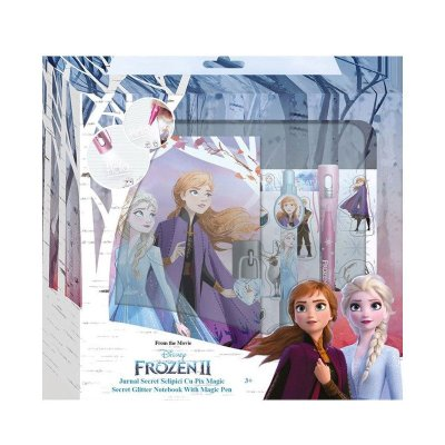Diario c/bolígrafo mágico Frozen 2