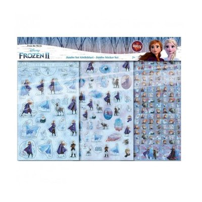 Wholesaler of Set 400 pegatinas Frozen 2 Disney