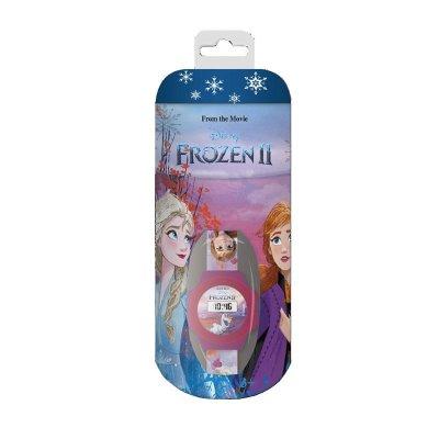 Set reloj digital y hucha cubilete Frozen 2 Disney