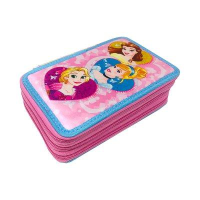 Plumier triple Princesas Disney 20cm