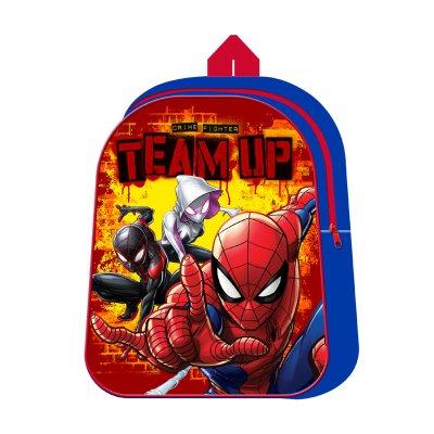 Mochila Spiderman Team Up 30cm