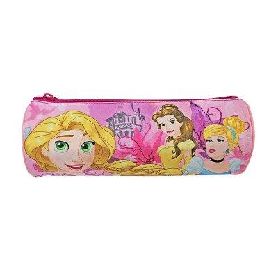 Estuche cilíndrico Princesas Disney 22cm