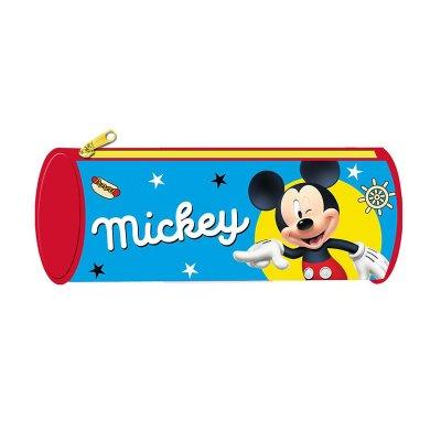 Estuche cilíndrico Mickey Mouse 22cm