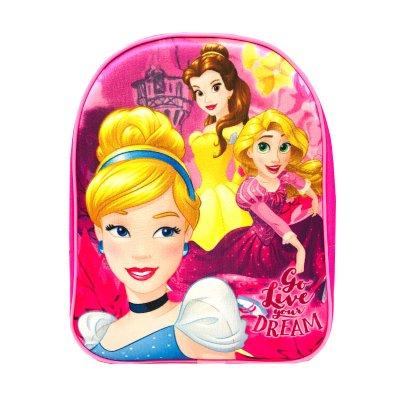 Mochila 3D Princesas Disney 30cm
