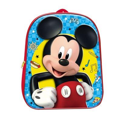 Mochila 3D Mickey Mouse 30cm
