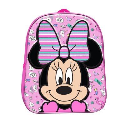 Mochila 3D Minnie Mouse 30cm