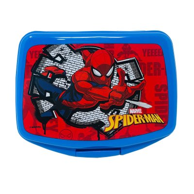 Sandwichera rectangular Marvel Spiderman