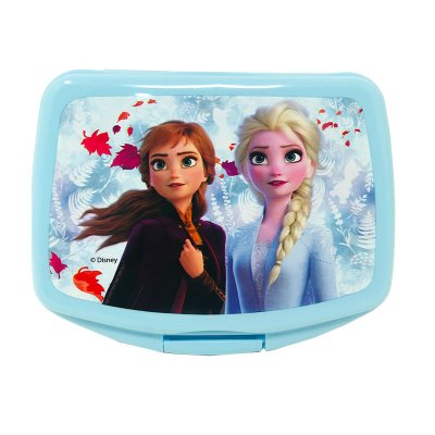 Sandwichera rectangular Ana y Elsa Frozen