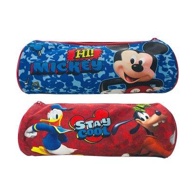 Estuche cilíndrico Mickey Mouse 23cm