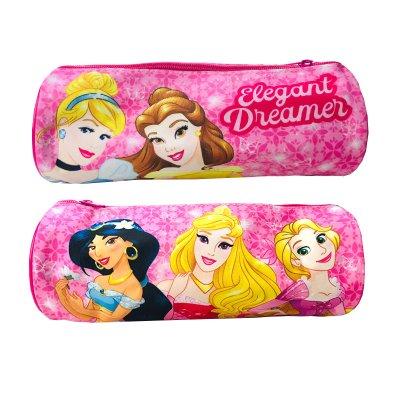 Estuche cilíndrico Princesas Disney 23cm