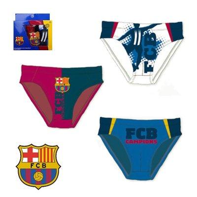 Pack 3 slips F.C. Barcelona