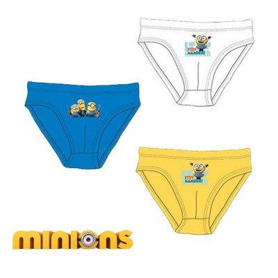 Distribuidor mayorista de Pack 3 slips Minions - modelo 1