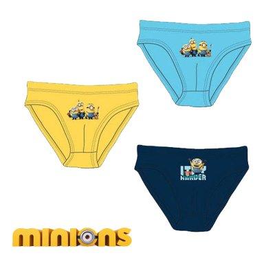 Distribuidor mayorista de Pack 3 slips Minions - modelo 2