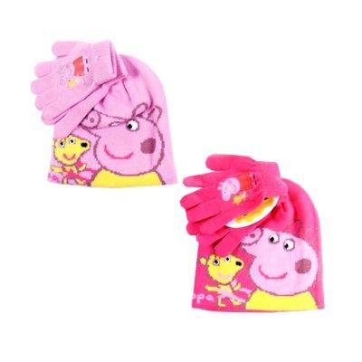 Set gorro guantes Peppa Pig 2 modelos