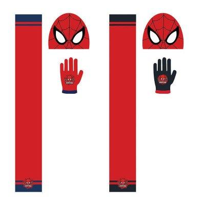 Set gorro bufanda guantes Spiderman 2 modelos