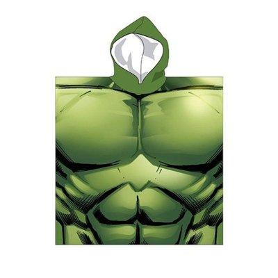 Poncho con capucha Hulk Los Vengadores