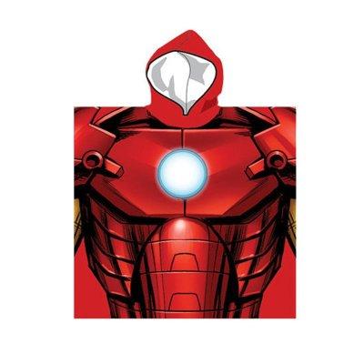 Poncho con capucha Iron Man Los Vengadores