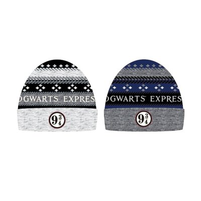 Gorro adulto Platform 9 3/4 Harry Potter 2 modelos