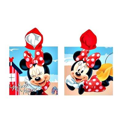 Poncho toalla con capucha microfibra Minnie Mouse Beach