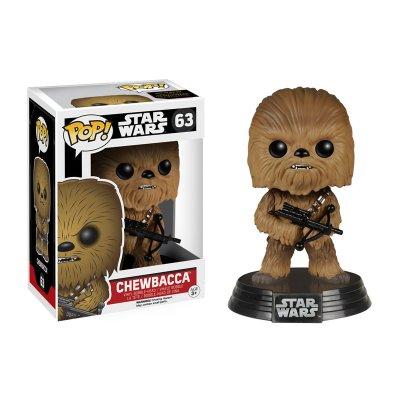 Figura Funko POP! Bobble 63 Chewbacca Star Wars Episodio VII