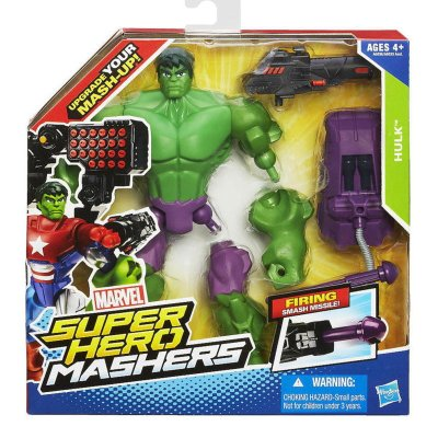 Figura Hulk Marvel Super Hero Mashers